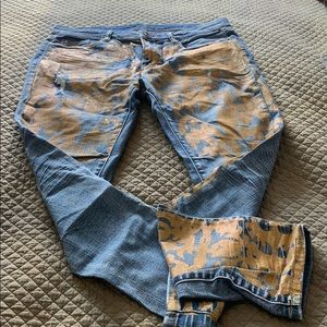 BlankNYC Jeans with gold